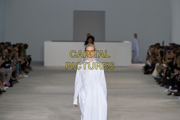 Jil Sander<br /> catwalk show at Milan Fashion Week Spring/Summer 2018 in Milan, Italy in September 2017.<br /> CAP/GOL<br /> &copy;GOL/Capital Pictures