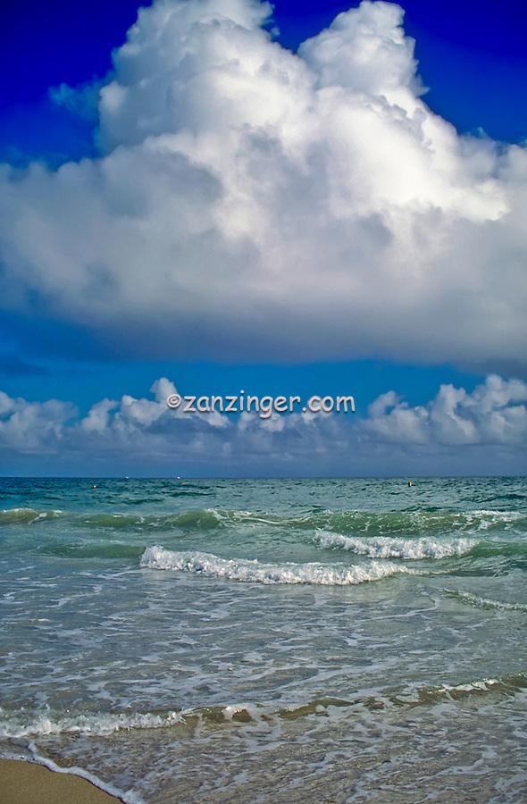 Marathon, Key West Florida, Dramatic, Beautiful, Ocean Waves, Aqua Water
