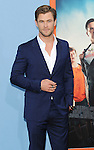 Chris Hemsworth arriving at the Los Angeles premiere of Vacation held at Regency Village Theatre Westwood CA. July 27, 2015.