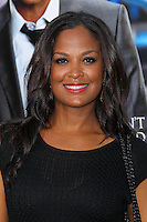 "WESTWOOD, LOS ANGELES, CA, USA - APRIL 07: Laila Ali at the Los Angeles Premiere Of Summit Entertainment's ""Draft Day"" held at the Regency Bruin Theatre on April 7, 2014 in Westwood, Los Angeles, California, United States. (Photo by Xavier Collin/Celebrity Monitor)"