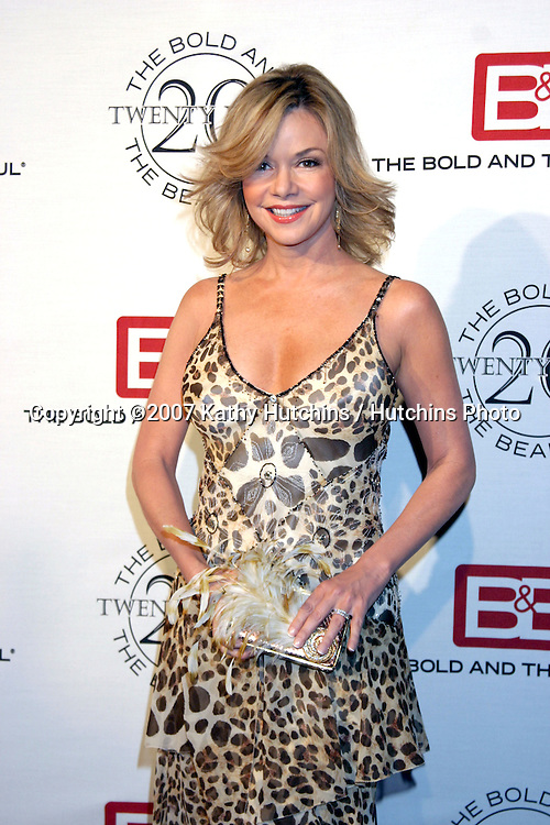 Bobbie Eakes.The Bold & The Beautiful 20th Anniversary Party.Two Rodeo Drive.Beverly Hills, CA.March 25, 2007.©2007 Kathy Hutchins / Hutchins Photo.
