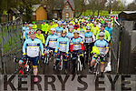 At The Kerry Crusader cycle club in association with Orbis scenic challenge on Sunday Starting at the Listowel community centre were