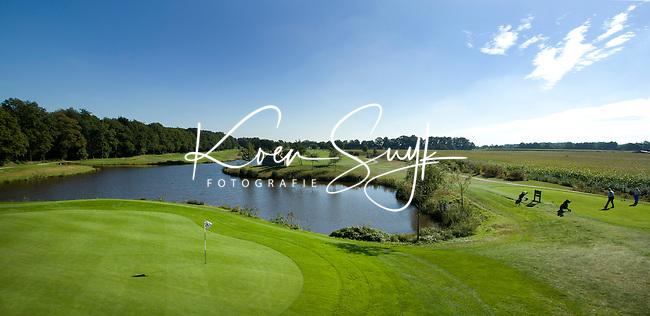 ENSCHEDE - Golfbaan- Het Rijk van SYBROOK, hole  Zuid 4 en 5  .COPYRIGHT KOEN SUYK