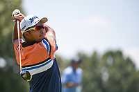 Hideki Matsuyama (JPN) during the 1st round at the WGC Fedex, TPC Southwinds, Memphis, Tennessee, USA. 25/07/2019.<br /> Picture Ken Murray / Golffile.ie<br /> <br /> All photo usage must carry mandatory copyright credit (© Golffile | Ken Murray)