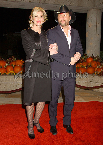 06 November 2007 - Nashville, Tennessee - Faith Hill and Tim McGraw. BMI Country Awards 2007 held at BMI Headquarters. Photo Credit: Laura Farr/AdMedia
