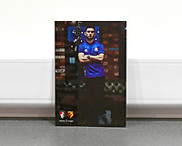 Lewis Cook of Bournemouth on ihefront of the match day programme during AFC Bournemouth vs Watford, Premier League Football at the Vitality Stadium on 12th January 2020