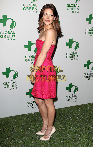 26 February 2014 - Hollywood, California - Ashley Greene. Global Green USA's 11th Annual Pre-Oscar Party held at Avalon.  <br /> CAP/ADM/FS<br /> &copy;Faye Sadou/AdMedia/Capital Pictures