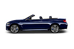 Car driver side profile view of a 2018 BMW 4 Series 430i M Sport 2 Door Convertible
