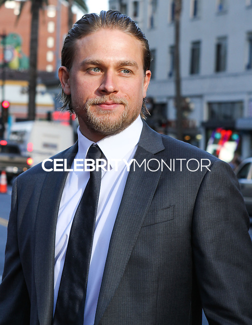 "[(FILE) Actor Charlie Hunnam has been cast as the lead actor in ""Fifty Shades of Grey"" (2014 Film) to play character Christian Grey. Focus Features and Universal Pictures announced Monday, Sept. 2, 2013 that Hunnam will play the 27-year-old billionaire Christian Grey in the big-screen adaptation of E L James' ""Fifty Shades of Grey"". Dakota Johnson will play the college student he captivates, Anastasia Steele.] HOLLYWOOD, CA - SEPTEMBER 07: Actor Charlie Hunnam at the Premiere Of FX's ""Sons Of Anarchy"" Season 6 held at the Dolby Theatre on September 7, 2013 in Hollywood, California. (Photo by Rudy Torres/Celebrity Monitor)"
