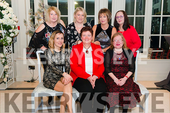 Leading Lables Christmas Party in the Heights Hotel, Killarney last Friday night. Front l-r Monika Stopa, Karen Crossley and Helen Mulrooney, back l-r Denise Buckley, Danuta Maciol, Valerie Foley and Magda Mentelska