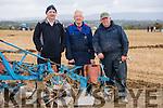 Don Holland, Eamon Flynn and Anus Horan, Castleisland. at the Abbeydorney Ploughing Match at Corridan's Farm, Ballysheen on Monday