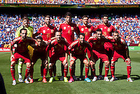 Spain vs El Salvador, June 7, 2014