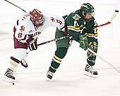 Brett Motherwell, Tom Collingham - The Boston College Eagles completed a shutout sweep of the University of Vermont Catamounts on Saturday, January 21, 2006 by defeating Vermont 3-0 at Conte Forum in Chestnut Hill, MA.