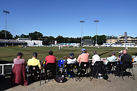 General view of play under blue skies during Essex CCC vs Somerset CCC, Specsavers County Championship Division 1 Cricket at The Cloudfm County Ground on 26th June 2018