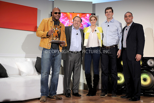 WWW.ACEPIXS.COM . . . . . .March 20, 2013...New York City....Flo Rida, Joe Stinziano, Kate Upton and Eli Manning attend Samsung's 2013 Television Line Launch Event at Museum Of American Finance on March 20, 2013 in New York City ....Please byline: KRISTIN CALLAHAN - ACEPIXS.COM.. . . . . . ..Ace Pictures, Inc: ..tel: (212) 243 8787 or (646) 769 0430..e-mail: info@acepixs.com..web: http://www.acepixs.com .