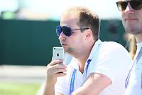 BILD-Reporter Timm Detering im Facebook Live Chat vom Training der Nationalmannschaft - 17.06.2017: Training der Deutschen Nationalmannschaft, Fisht Stadium Sotschi