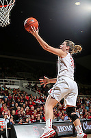 STANFORD, CA - January 27, 2013: Stanford Cardinal's Toni Kokenis during Stanford's 69-56 victory over the Colorado Buffaloes at Maples Pavilion in Stanford, California.