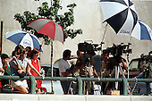 Washington, DC - August 6, 1998 -- Media awaits departure of Monica Lewinsky from U.S. District Court this afternoon..Credit: Ron Sachs / CNP