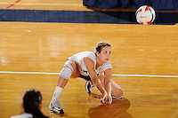 20 November 2008:  FIU outside hitter Yarimar Rosa (3) keeps the ball in play during the FIU 3-1 victory over South Alabama in the first round of the Sun Belt Conference Championship tournament at FIU Stadium in Miami, Florida.