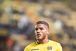 Jonathan Dos Santos of Villarreal CF looks on during their Copa del Rey 2016-17 match between Villarreal CF and CD Toledo at the Estadio El Madrigal on 20 December 2016 in Villarreal, Spain. Photo by Maria Jose Segovia Carmona / Power Sport Images