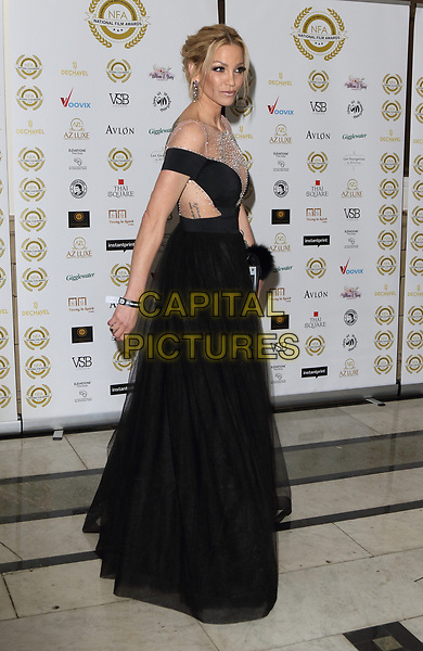 Sarah Harding at the National Film Awards at the Porchester Hall, London on  Wednesday 28 March 2018 <br /> CAP/ROS<br /> &copy;ROS/Capital Pictures