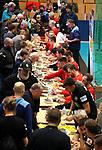 08.01.2019, Hohenschoenhausen, Berlin, GER, Handball WM, DHB,  TRAINING, im Bild <br /> Autogrammstunde<br /> <br />      <br /> Foto &copy; nordphoto / Engler