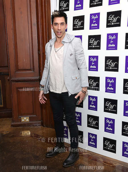 Russell Kane arriving for the Style for Stroke Party, 5 Cavendish Square, London. 02/10/2012 Picture by: Henry Harris  / Featureflash