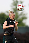 18 May 2011: Becky Sauerbrunn (USA). The United States Women's National Team defeated the Japan Women's National Team 2-0 at WakeMed Stadium in Cary, North Carolina as part of preparations for the 2011 Women's World Cup.