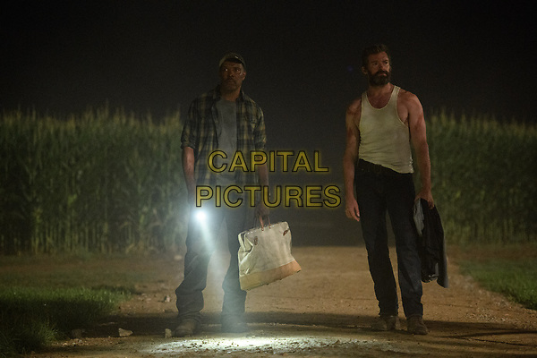 Logan (2017) <br /> Hugh Jackman &amp; Eriq La Salle<br /> *Filmstill - Editorial Use Only*<br /> CAP/KFS<br /> Image supplied by Capital Pictures