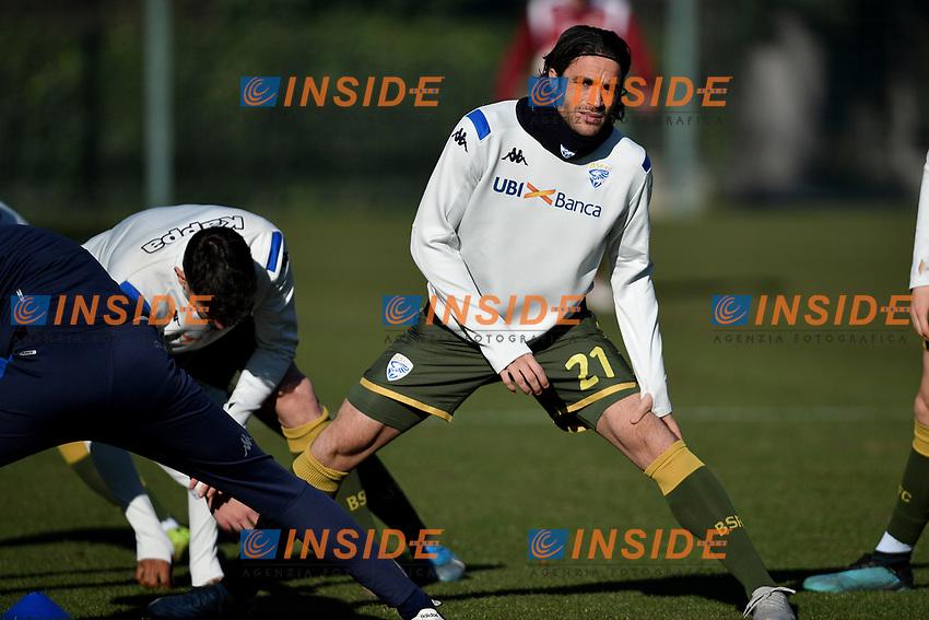 Alessandro Matri of Brescia Calcio <br /> Roma 30/12/2019 Stadio Giulio Onesti <br /> Football  Friendly match <br /> Trastevere Calcio - Brescia FC <br /> Photo Andrea Staccioli / Insidefoto