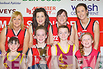 Four mothers and daughters who all won titles in their respective competitions at the Castleisland basketball blitz on Friday l-r: Joanne and Nicole Downey Brosna, Fiona and Leanne O'Connor Cordal, Joanne and Labhaoise Walmsley Castleisland and Norma and Kayla O'Connor ......