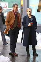 www.acepixs.com<br /> <br /> March 3 2017, New York City<br /> <br /> Actors Alan Cumming and Bojana Novakovic on the set of the new TV show 'Instinct' on March 16 2017 in New York City<br /> <br /> By Line: Zelig Shaul/ACE Pictures<br /> <br /> <br /> ACE Pictures Inc<br /> Tel: 6467670430<br /> Email: info@acepixs.com<br /> www.acepixs.com