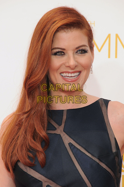 25 August 2014 - Los Angeles, California - Debra Messing. 66th Annual Primetime Emmy Awards - Arrivals held at Nokia Theatre LA Live. <br /> CAP/ADM/BP<br /> &copy;BP/ADM/Capital Pictures