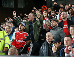 Arsenal's fans look on dejected during the Premier League match at Selhurst Park Stadium, London. Picture date: April 10th, 2017. Pic credit should read: David Klein/Sportimage