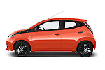 Car Driver side profile view of a 2015 Toyota AYGO X-CITE 2WD MT 5 Door Micro Car 2WD Side View