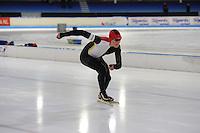 SCHAATSEN: HEERENVEEN: 03-02-2017, KPN NK Junioren, Junioren C Heren 500m, Daan Spruit, ©foto Martin de Jong