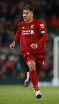 Roberto Firmino of Liverpool during the Premier League match at Anfield, Liverpool. Picture date: 30th November 2019. Picture credit should read: Simon Bellis/Sportimage