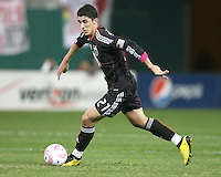 Pablo Hernandez #21 of D.C. United during an MLS match against Toronto FC that was the final appearance of D.C. United's Jaime Moreno at RFK Stadium, in Washington D.C. on October 23, 2010. Toronto won 3-2.