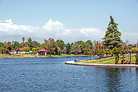 A nice summer day at Lake Balboa, Encino, CA.