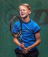 Hilversum, Netherlands, August 9, 2017, National Junior Championships, NJK, Tristan Schrier<br /> Photo: Tennisimages/Henk Koster