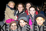 At the New Year's Celebrations in Portmagee were front l-r; Freyje Walsh, Heather Walsh, Katja Ruedi, back l-r; Vika Ruedi, Liz Ruedi, Marie Brennan & Molly Walsh all from the Glen, Ballinskelligs.