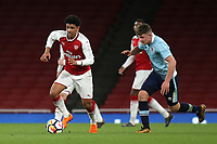 Xavier Amaechi of Arsenal in action during Arsenal Youth vs Blackpool Youth, FA Youth Cup Football at the Emirates Stadium on 16th April 2018