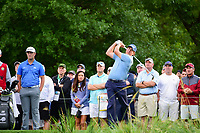 Phil Mickelson (USA) watches his tee shot on 10 during round 1 of the Shell Houston Open, Golf Club of Houston, Houston, Texas, USA. 3/30/2017.<br /> Picture: Golffile | Ken Murray<br /> <br /> <br /> All photo usage must carry mandatory copyright credit (&copy; Golffile | Ken Murray)