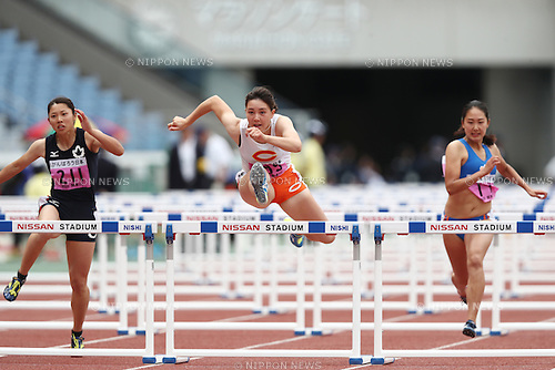 Megu Hemphill (),<br /> MAY 20, 2016 - Athletics : The 95th Kanto University Athletics Championship Women's 100mH Final at Nissan Stadium, Kanagawa, Japan. (Photo by AFLO SPORT)