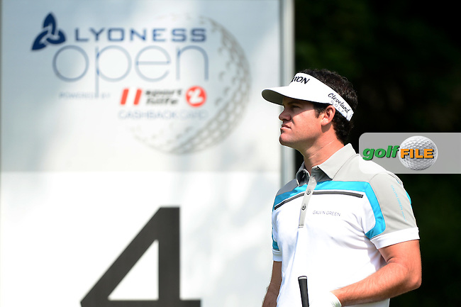 Ricardo Gouveia of Portugal during Round 3 of the Lyoness Open, Diamond Country Club, Atzenbrugg, Austria. 11/06/2016<br /> Picture: Richard Martin-Roberts / Golffile<br /> <br /> All photos usage must carry mandatory copyright credit (&copy; Golffile | Richard Martin- Roberts)