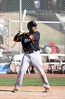 Thomas Neal, San Francisco Giants 2010 minor league spring training..Photo by:  Bill Mitchell/Four Seam Images.