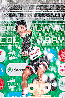 Picture by Alex Whitehead/SWpix.com - 17/06/2018 - Cycling - 2018 OVO Energy Women's Tour - Stage 5, Dolgellau to Colwyn Bay - Coryn Rivera of Team Sunweb wins the overall GC.