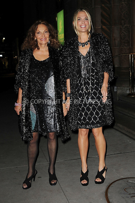 WWW.ACEPIXS.COM . . . . . ....November 2 2009, New York City....Model Molly Sims and designer Diane von Furstenberg arriving at the 13th Annual 2009 ACE Awards presented by the Accessories Council at Cipriani 42nd Street on November 2, 2009 in New York City.....Please byline: KRISTIN CALLAHAN - ACEPIXS.COM.. . . . . . ..Ace Pictures, Inc:  ..tel: (212) 243 8787 or (646) 769 0430..e-mail: info@acepixs.com..web: http://www.acepixs.com