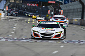 2017 IMSA WeatherTech SportsCar Championship<br /> BUBBA burger Sports Car Grand Prix at Long Beach<br /> Streets of Long Beach, CA USA<br /> Saturday 8 April 2017<br /> 93, Acura, Acura NSX, GTD, Andy Lally, Katherine Legge<br /> World Copyright: Richard Dole/LAT Images<br /> ref: Digital Image RD_LB17_365