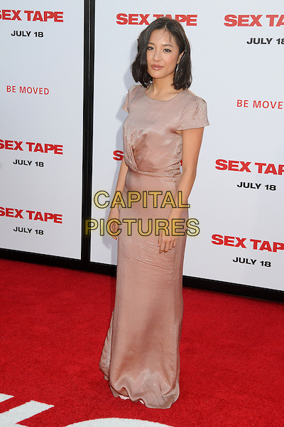 10 July 2014 - Westwood, California - Constance Wu. &quot;Sex Tape&quot; Los Angeles Premiere held at the Regency Village Theatre. <br /> CAP/ADM/BP<br /> &copy;Byron Purvis/AdMedia/Capital Pictures